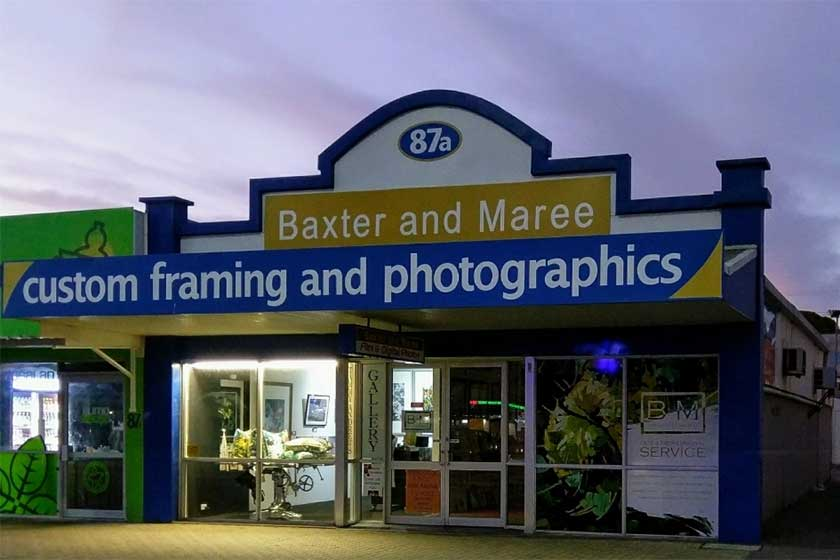 Baxter and Maree Storefront