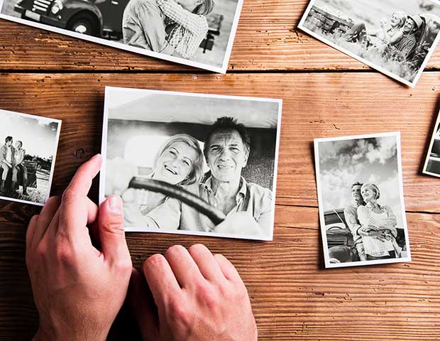 Restore old photographs