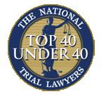 Top 40 Under 40 Badge