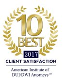10 Best Client Satisfaction Award for Nava Law