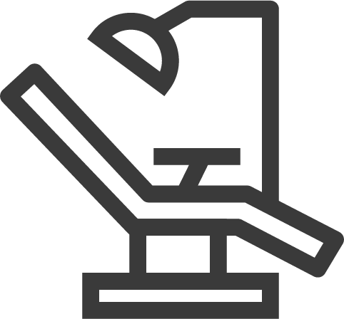 dental chair icon