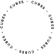 cubes visual media logo circle
