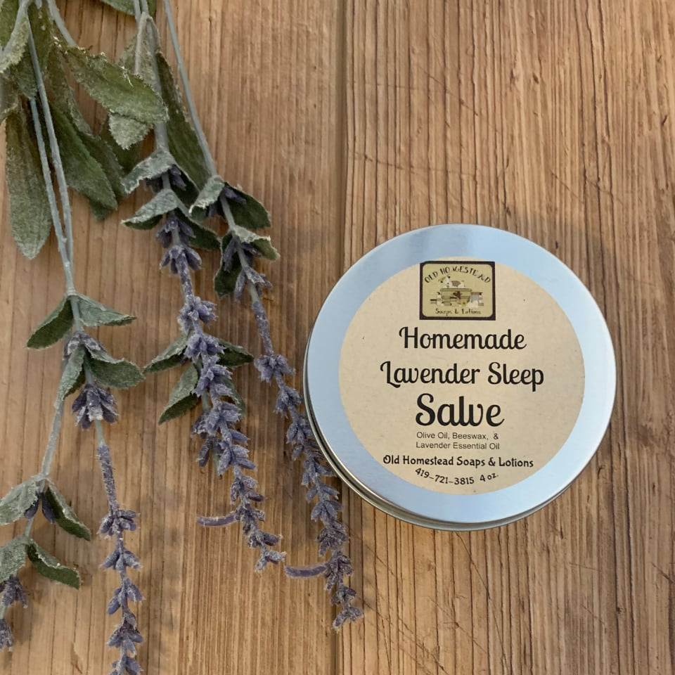 Lavender Sleep Salve