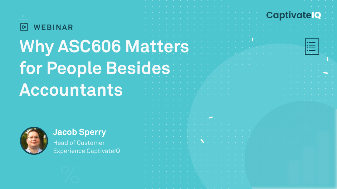 Why ASC606 matters for people besides accountants