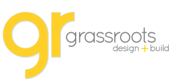 Grassroots Design and Build logo