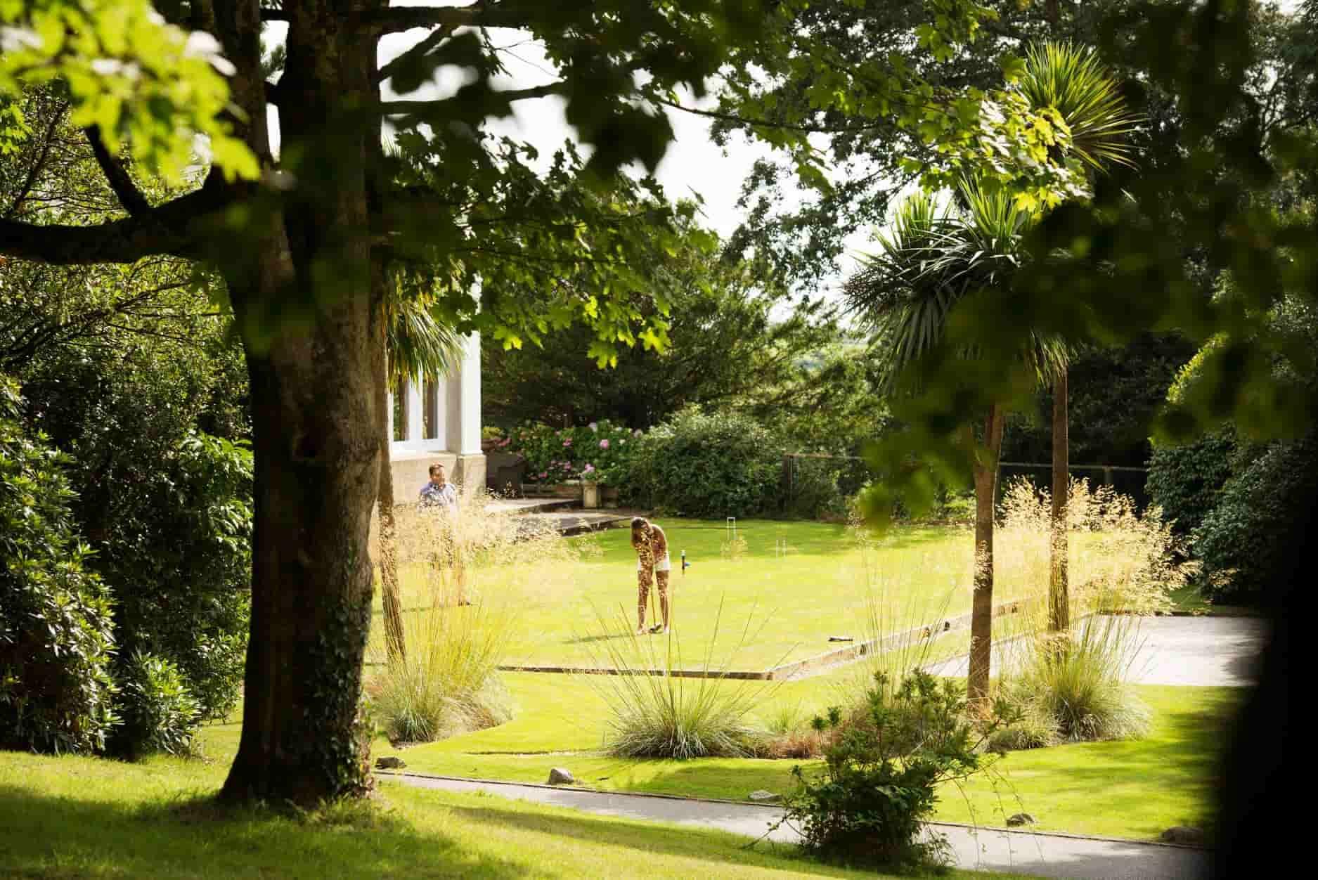 Trenython Manor grounds