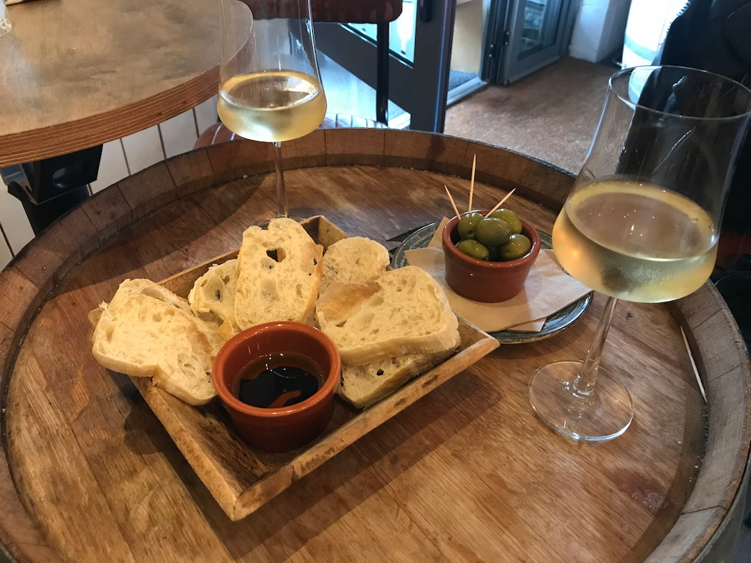 Local Wine and bread Charlestown