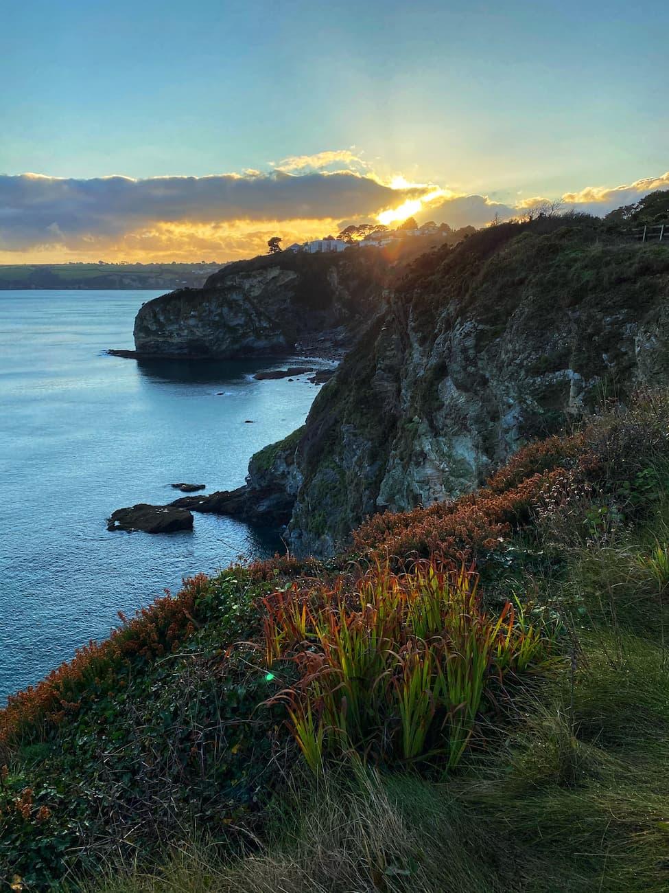 View of Carlyon Bay