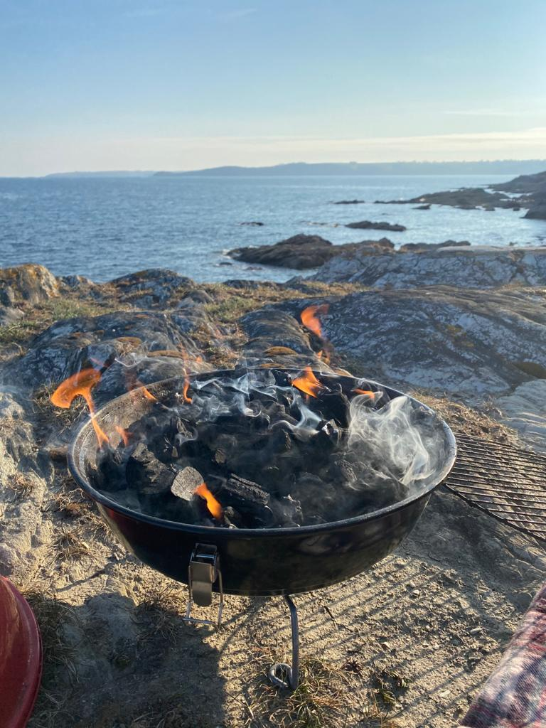 How to BBQ sustainably in Cornwall