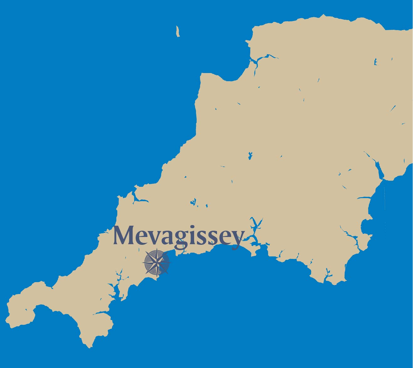 Mevagissey-map