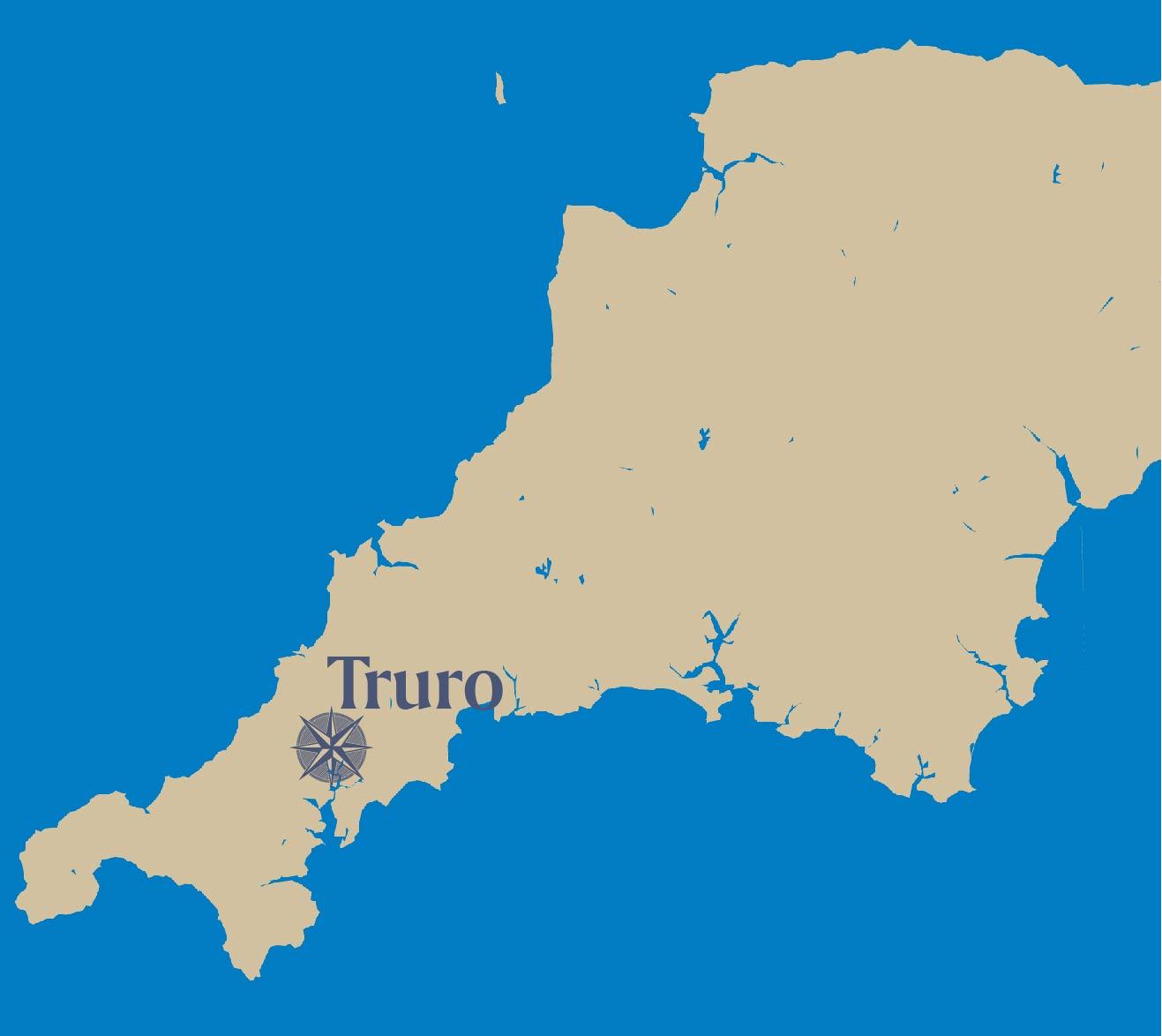 Truro-map