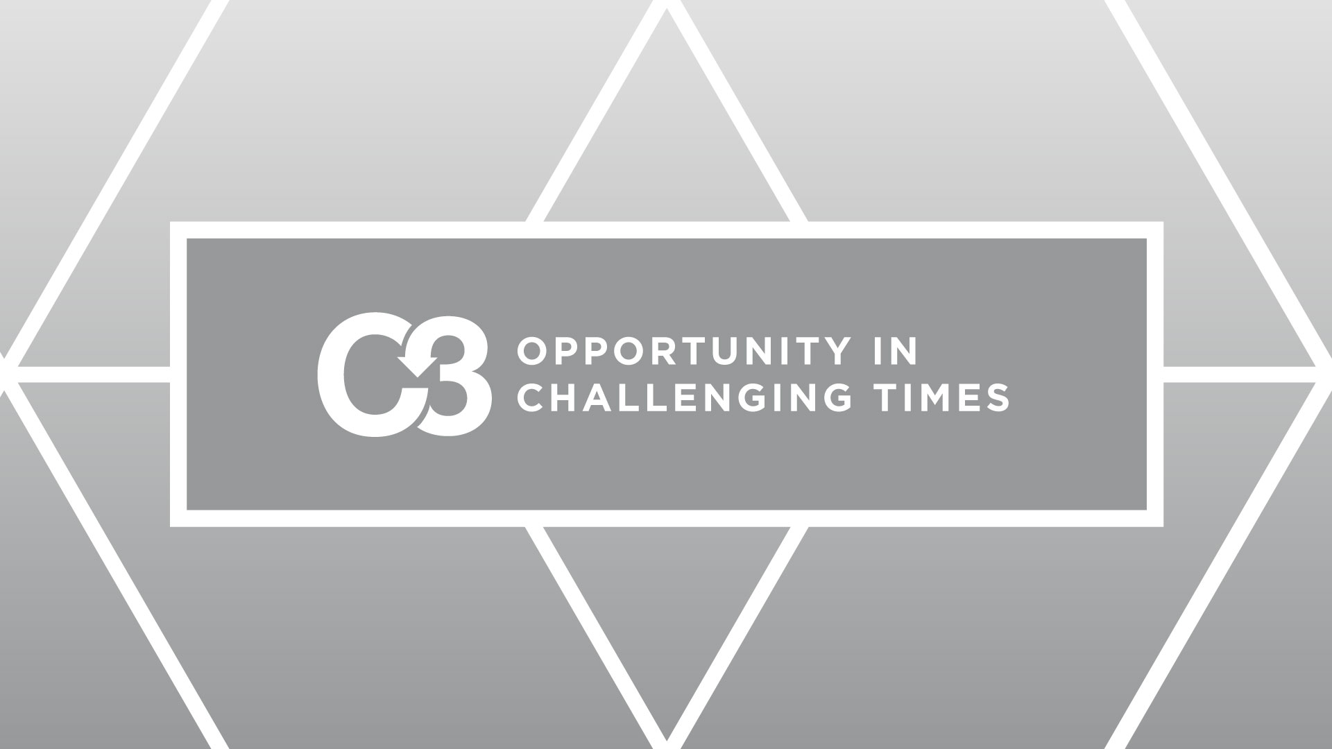 Opportunity In Challenging Times
