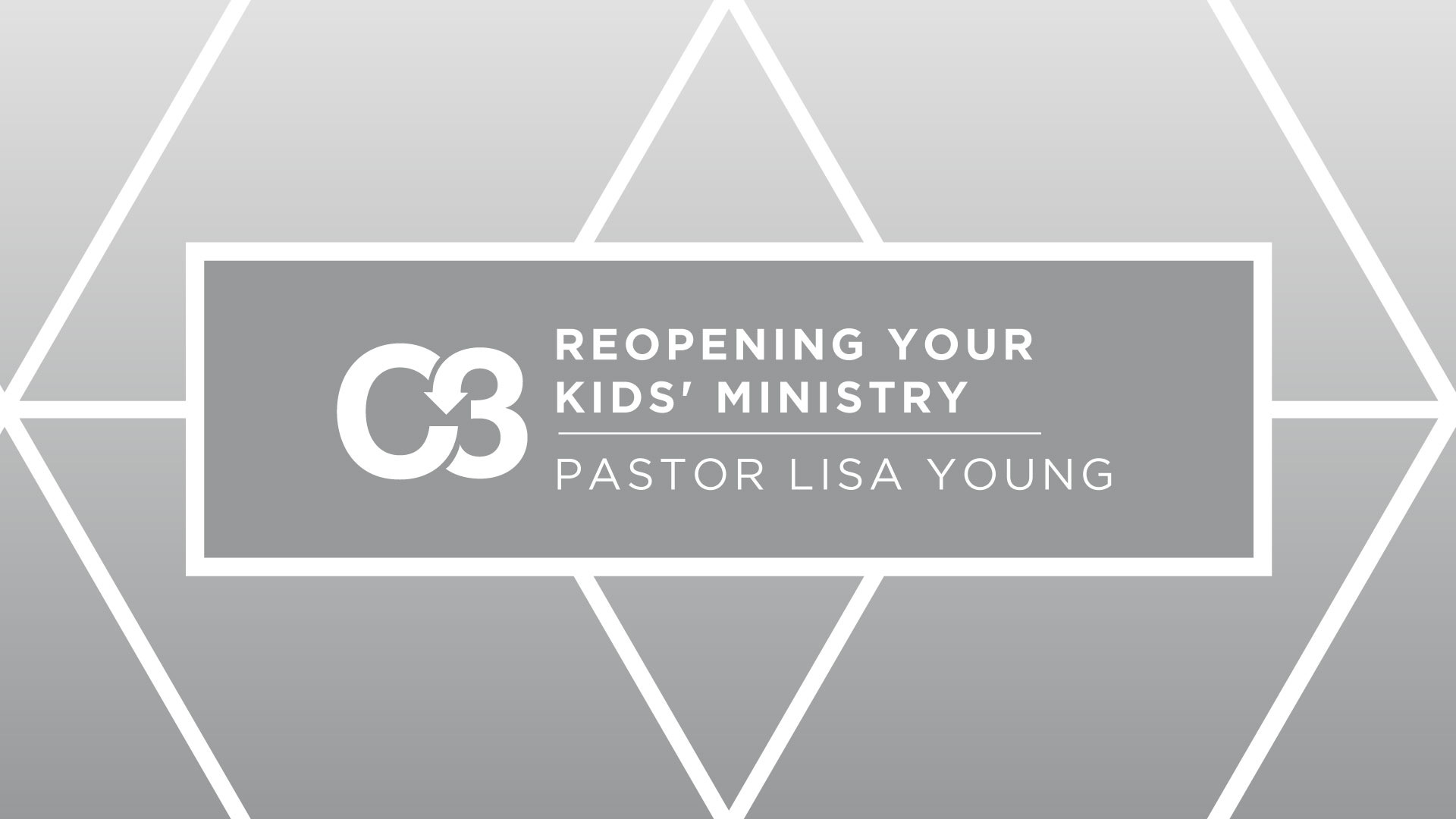 Reopening Your Kids' Ministry