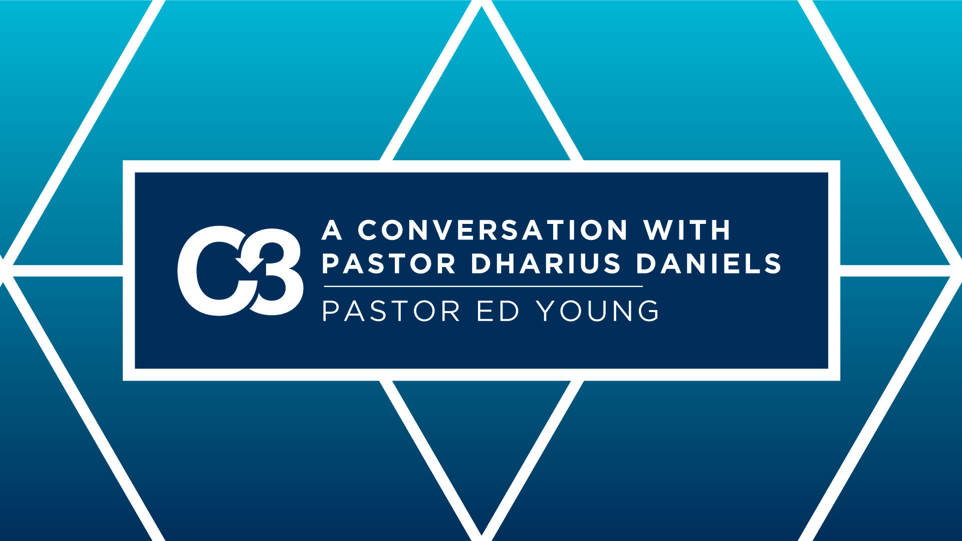 A Conversation With Pastor Dharius Daniels