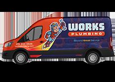 Works Plumbing Local Plumber Service Van