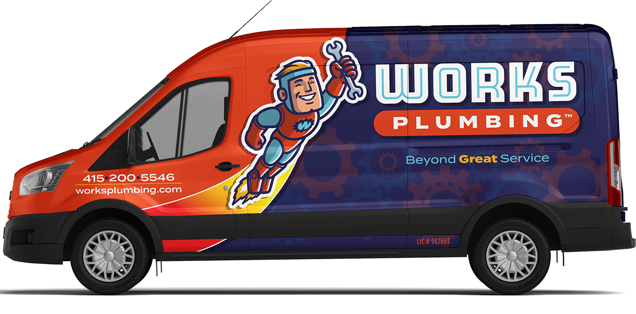 Works Plumbing Local Plumber San Francisco - Check Out Our Service Van