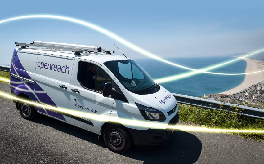 Openreach will provide speeds of up to 330Mbps to customers in 81 new locations