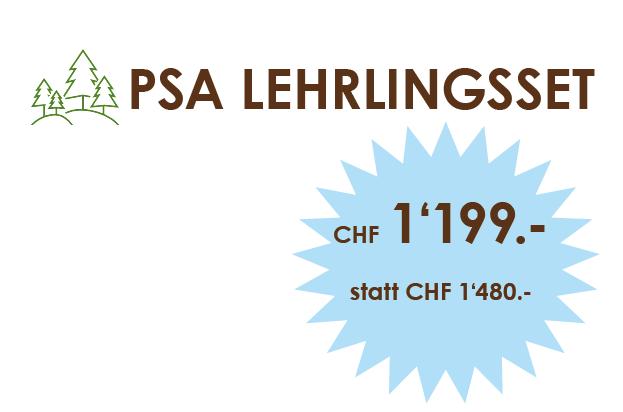 PSA Lehrlingsset für unschlagbare CHF 1'199.-