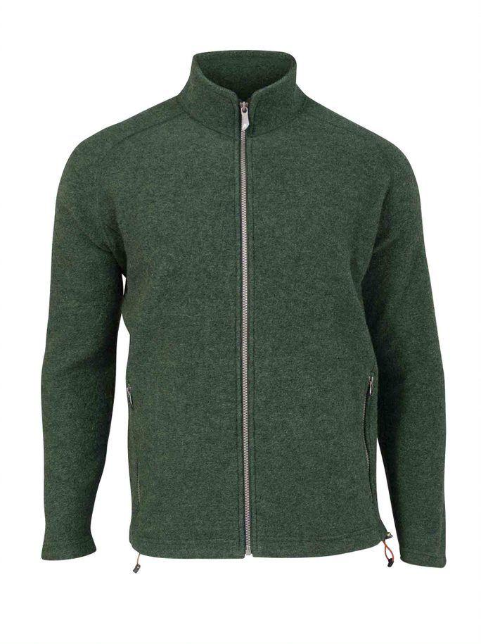 IVANHOE OF SWEDEN DANNY Herren Jacket Wollwalk rifle green
