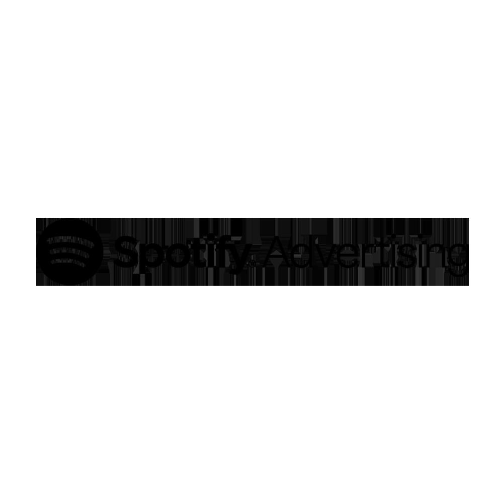 Spotify advertising logo