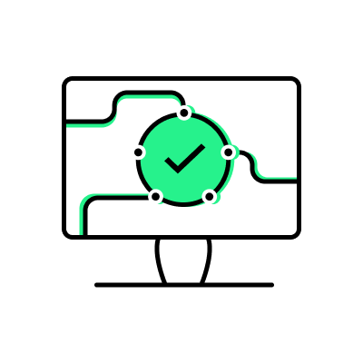Icon for service delivery