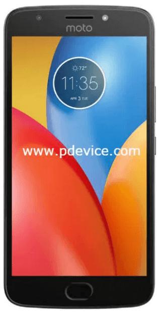 Motorola E4 smartphone