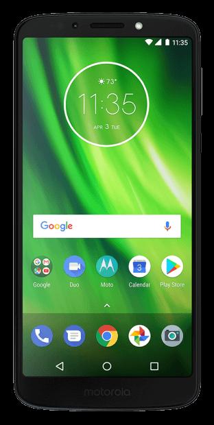 Motorola G6 smartphone