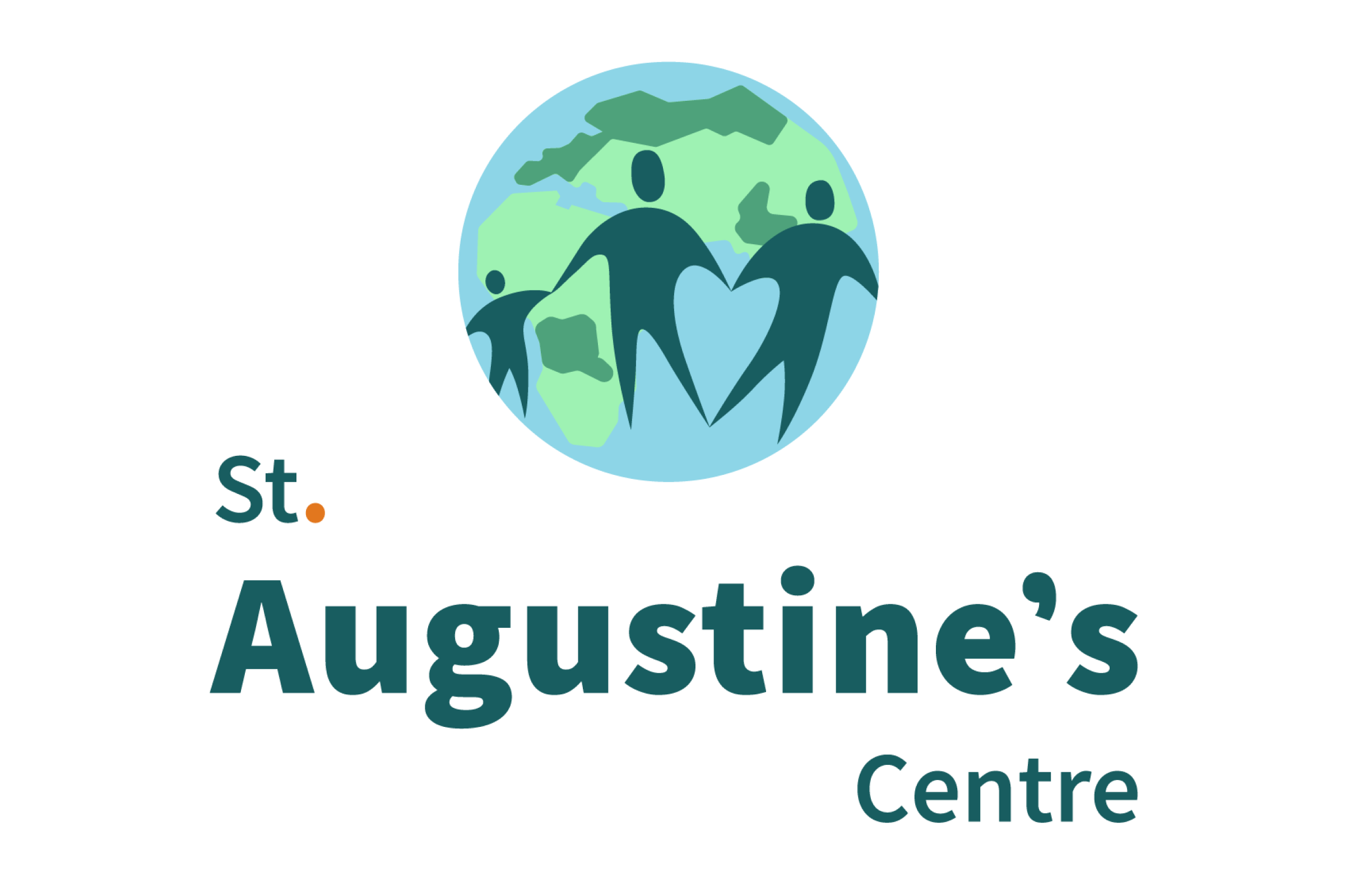 A logo for St Augustine's Centre