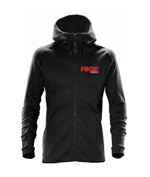 Team Hoody Black Front View