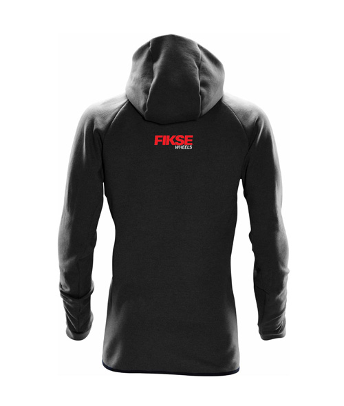 Team Hoody Black Back View