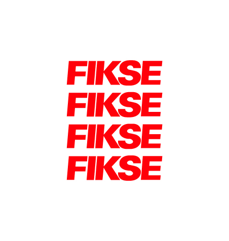 FIKSE Lip Stickers Red
