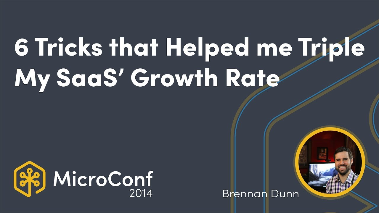 6 Tricks That Helped Me Triple My SaaS' Growth Rate