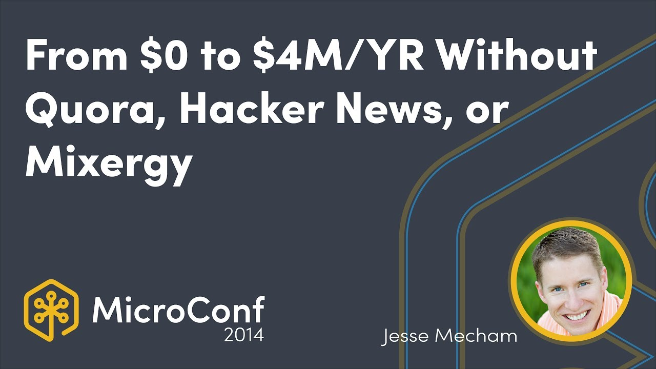 From Zero to $4M per year Without Quora, Hacker News, or Mixergy