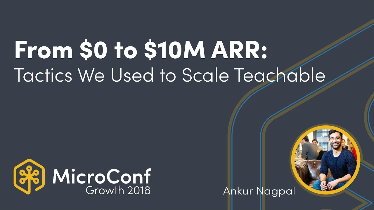 From $0 to $10M ARR: The Tactics We Used to Scale Teachable