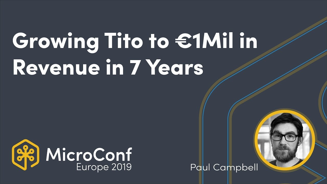 Growing Tito to €1Mil in Revenue in 7 Years: What We Did & Didn't Do