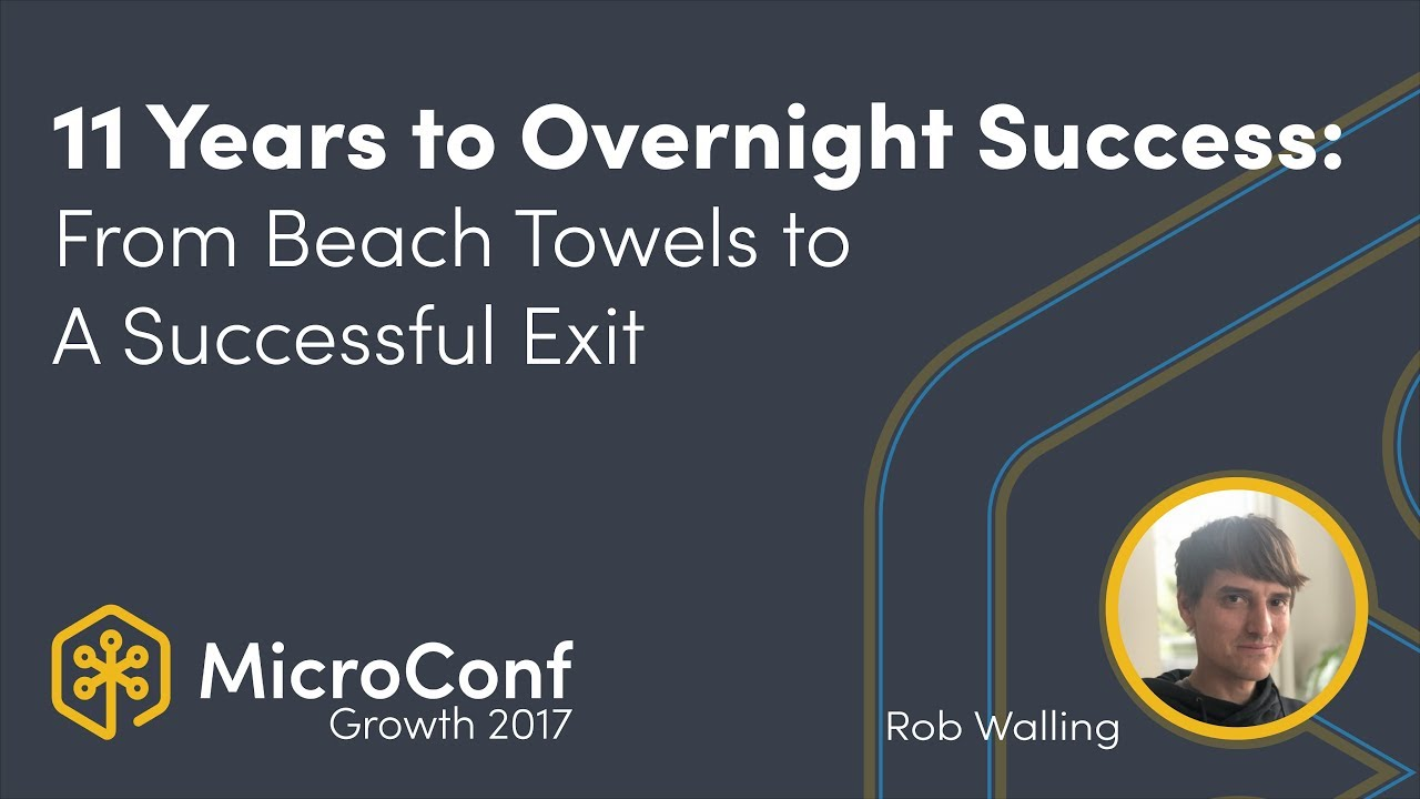11 Years to Overnight Success: From Beach Towels to A Successful Exit