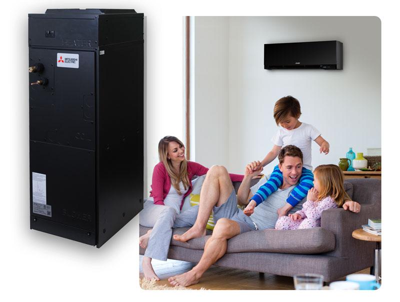 Mitsubishi Electric Cooling & Heating