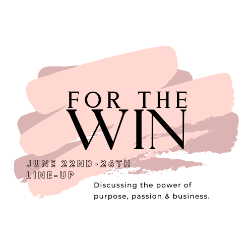 A poster for a For The Win episode with the For The Win logo.