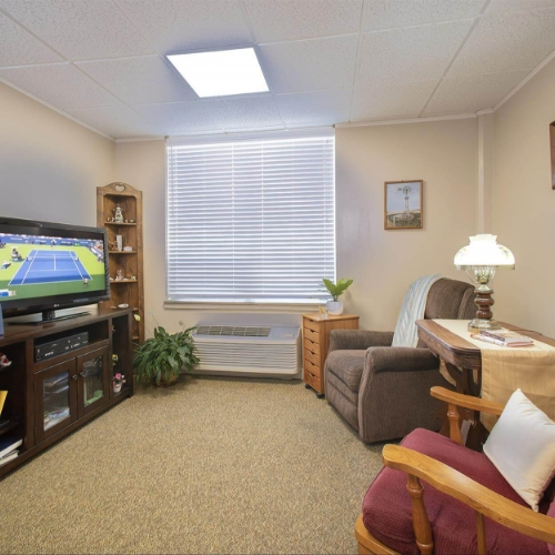 Independent Living Clay Center Presbyterian Manor Sitting Room