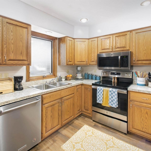 Independent Living Clay Center Presbyterian Manor Kitchen