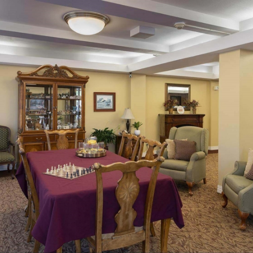 Assisted Living Clay Center Presbyterian Manor Dining Room