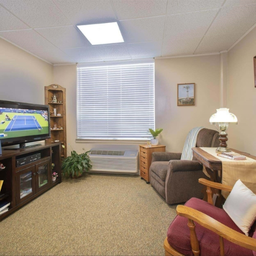 Assisted Living Clay Center Presbyterian Manor Sitting Room