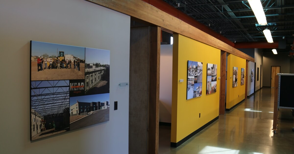 Inside KEAR Civil Corporation's Office