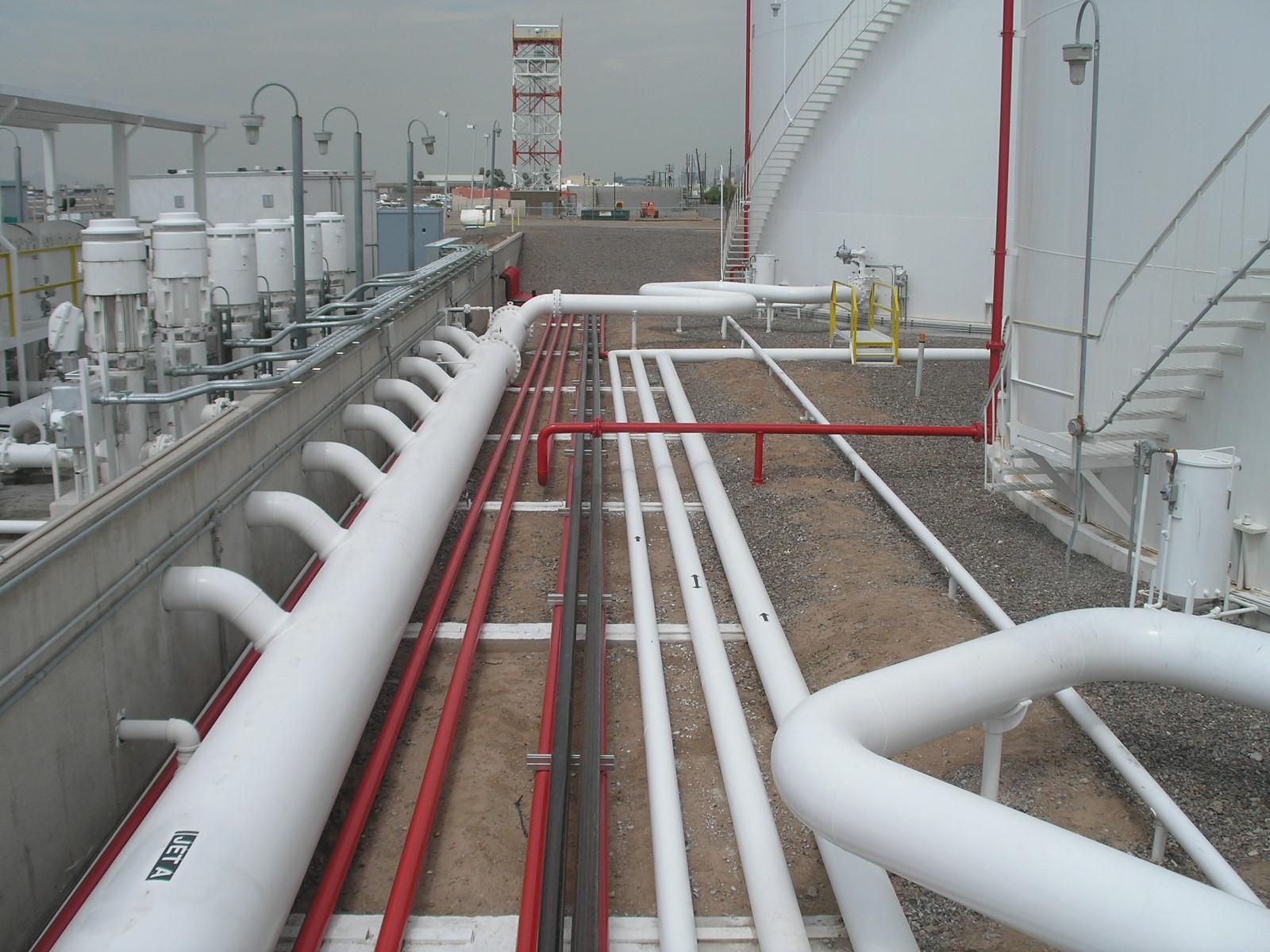 Aviation Fuel Construction