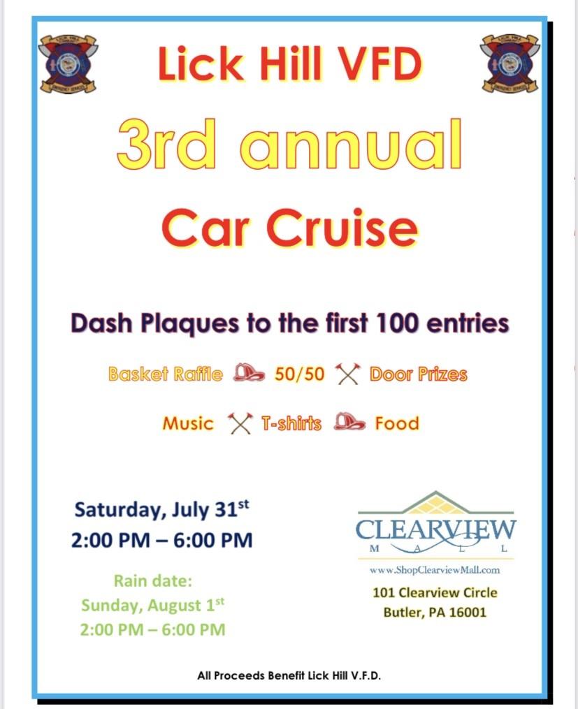 VFD Car Cruise Poster