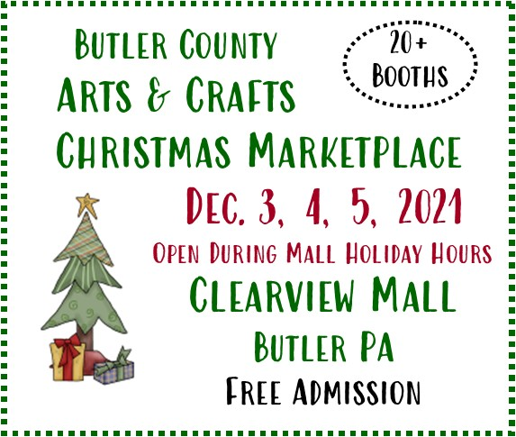 Butler County Arts & Crafts Christmas flyer