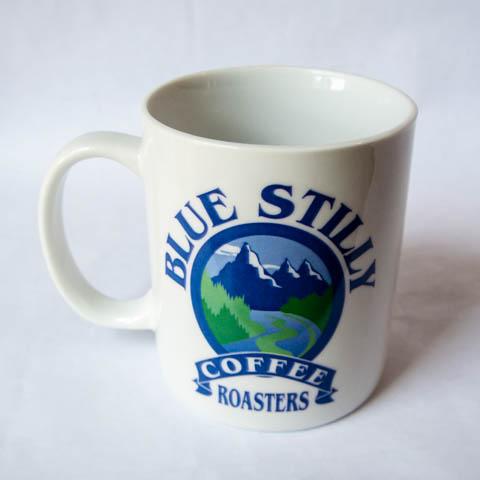 Blue Stilly Coffee Mug