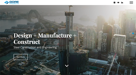 Gore Projects Website