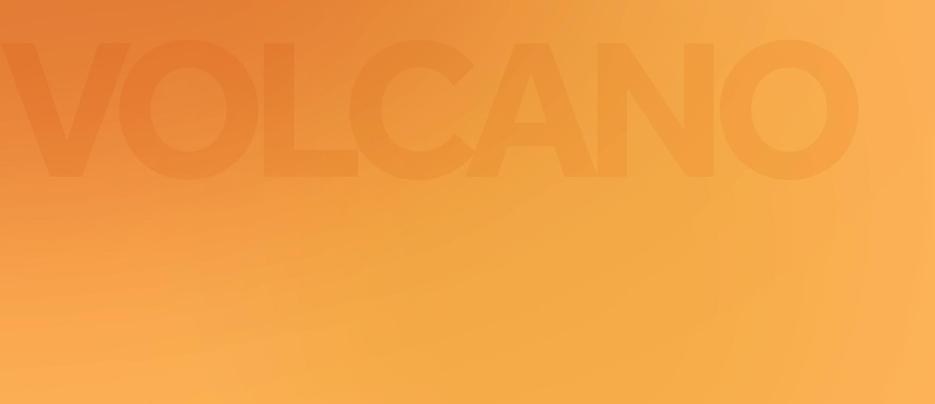 An orange wave background