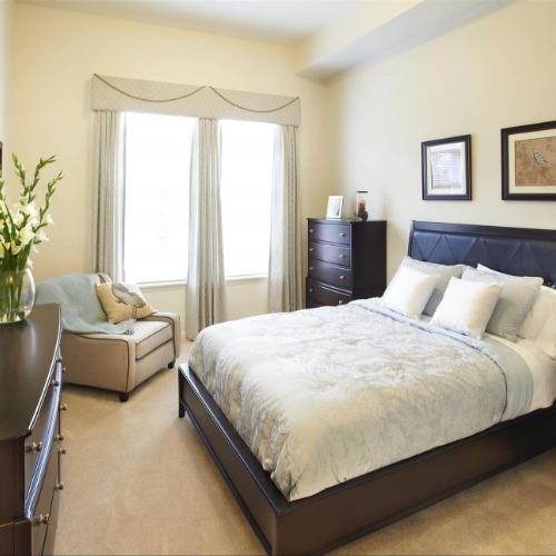 Aberdeen Heights Independent Living bedroom card
